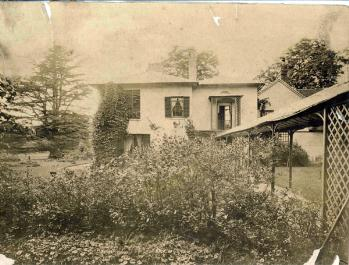 Kempston Vicarage about 1880 [X254/88/152]